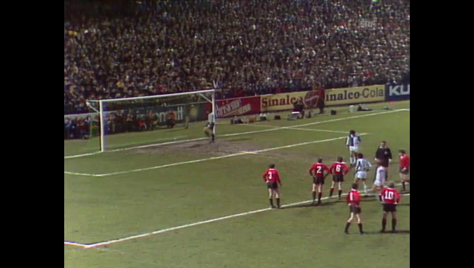 1978: GC-Penalty gegen Eintracht