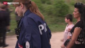 Video «Fahrenden-Camp in Bern geräumt» abspielen
