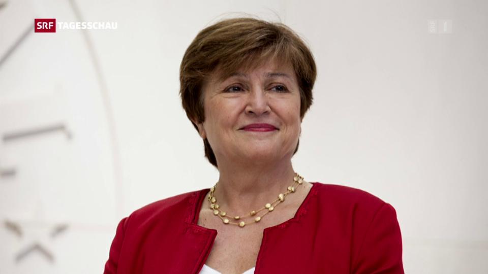 Aus dem Archiv: Georgiewa ist die neue Frau an der Spitze des IWF