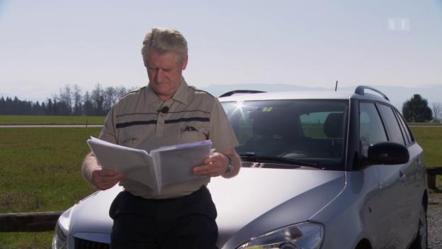 Video «Vollgas mit falschen Forderungen: Inkassobüro bedrängt Autofahrer» abspielen