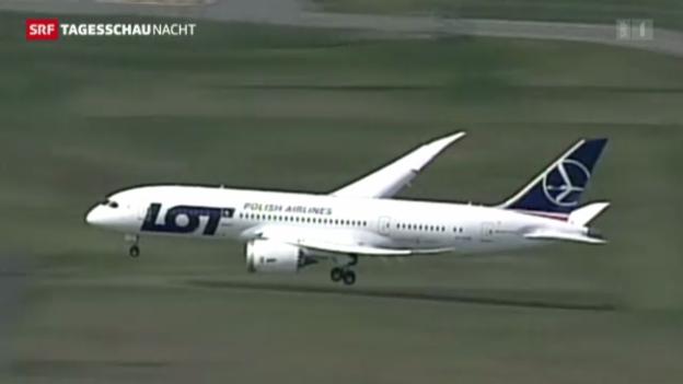 Video ««Dreamliner»-Testflüge abgeschlosen» abspielen
