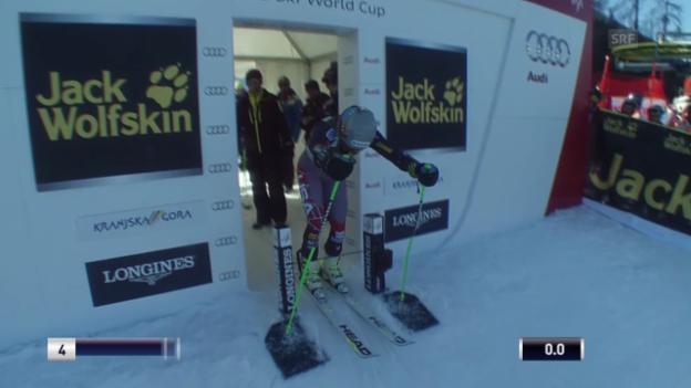 Video «Ski Alpin: Riesenslalom Kranjska Gora, 1. Lauf von Ted Ligety («sportlive», 8.3.2014)» abspielen