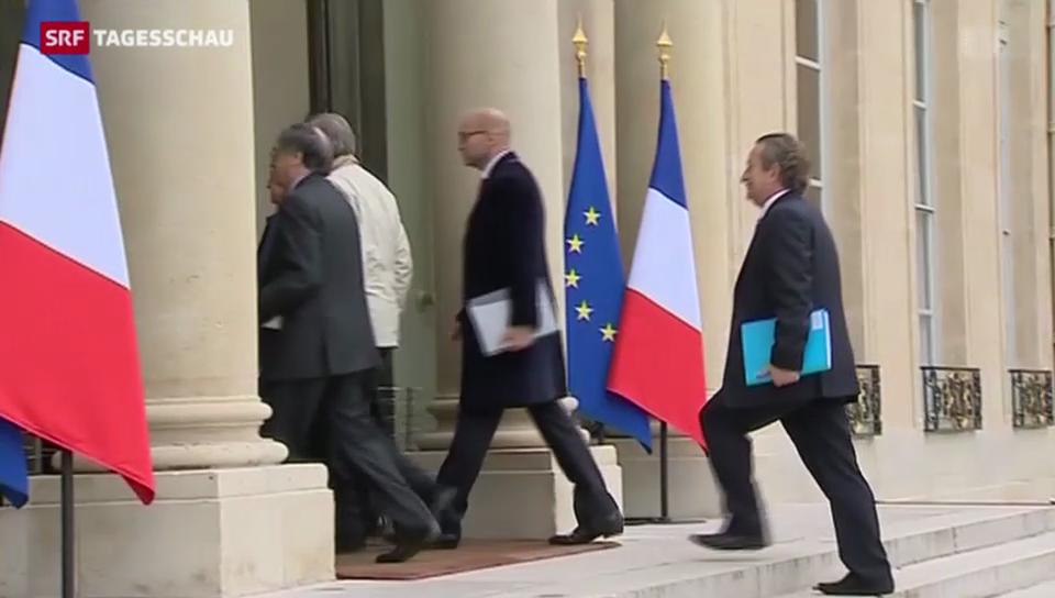 Streit zwischen François Hollande und der Fussballwelt