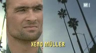 Video «Goldenes Rüebli goes Hollywood: Ruder-Profi Xeno Müller» abspielen
