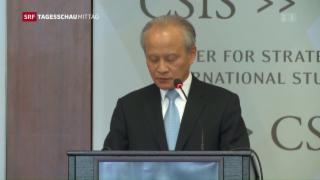 Video «China geht auf Konfrontation im Inselstreit» abspielen