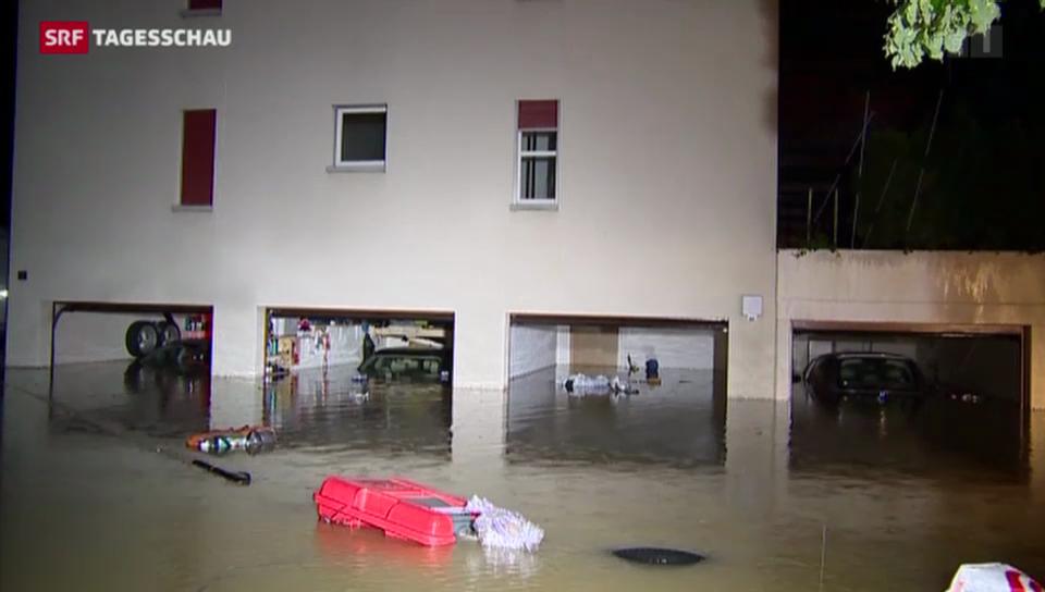 Zwei Todesopfer nach Unwetter in der Schweiz