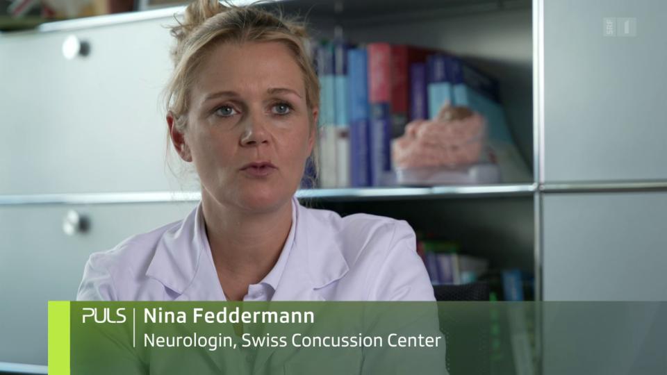Nina Feddermann, Neurologin: «Eine lange Ruhephase kann dazu führen, dass Symptome chronisch werden.»