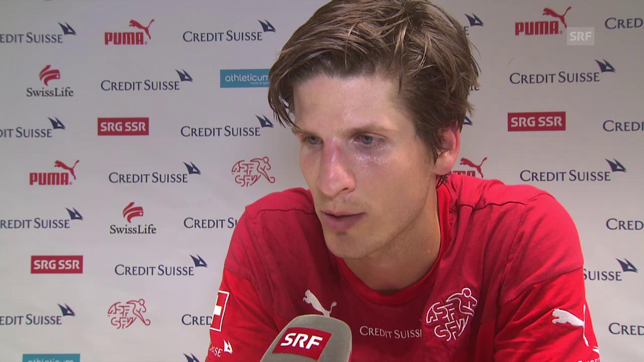 Fussball: Timm Klose im Interview (Nati-Aufgebot)