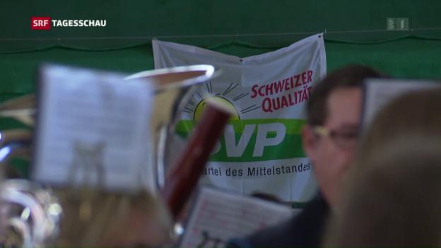 Video «SVP-Chef attackiert Bundesrat» abspielen