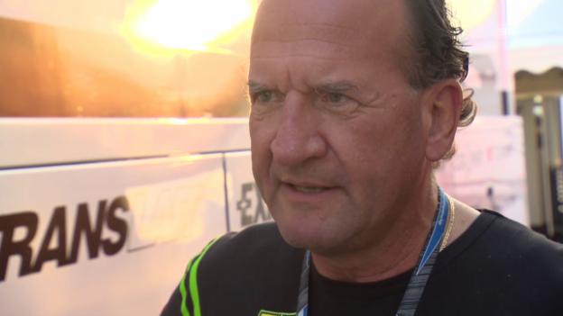 Video «Motorrad: Interview mit Dominique Aegerters Manager Robert Siegrist» abspielen