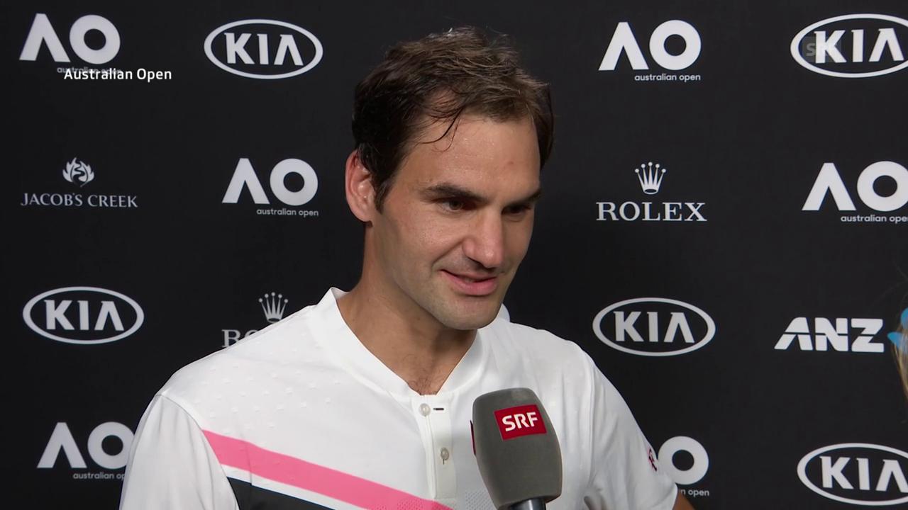 Federer: «Ich wusste, dass er Probleme hat»