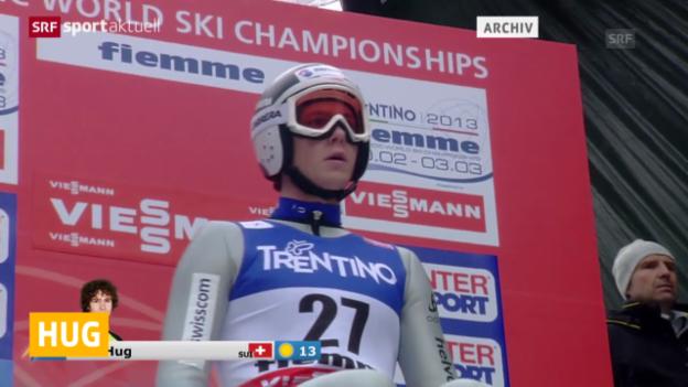 Video «Ski Nordisch: Weltcup in Schonach» abspielen