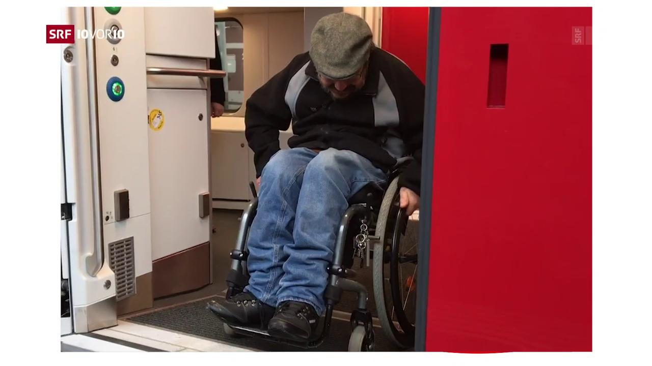 FOKUS: Die Rollstuhlfalle der SBB