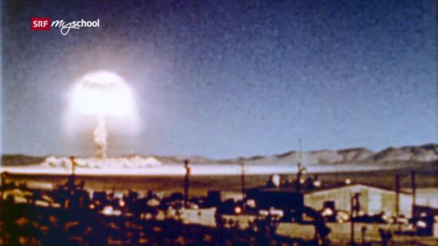 Video «Die Atombombe im Vorgarten - Geschichten aus dem Kalten Krieg» abspielen