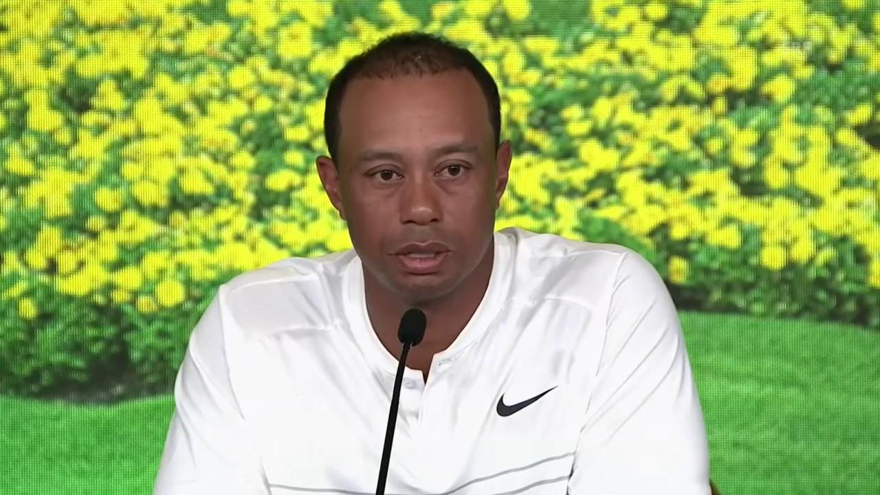 Tiger Woods über die Ausgangslage