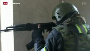 Video «Russischer Anti-Terror-Einsatz: Sieben Terroristen getötet» abspielen