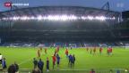 Video «FCB: Relaxed an die neue Herausforderung» abspielen