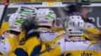Video «Eishockey: Davos schlägt den EV Zug» abspielen