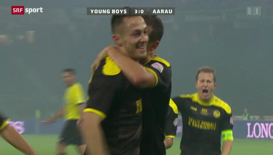 François Affolters letzter Treffer für die Young Boys