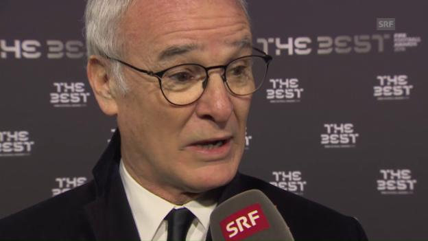Video «Ranieri: «Es ist verrückt!» (engl.)» abspielen