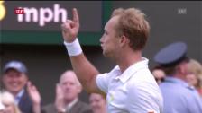 Video «Wimbledon: Nadal - Darcis («sportlounge»)» abspielen