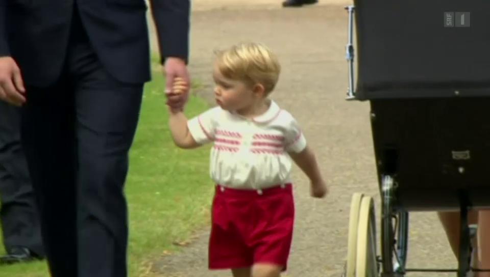 Alle wollen Prinz George sehen