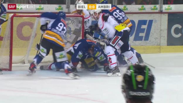 Video «Eishockey: Biel-Ambri» abspielen