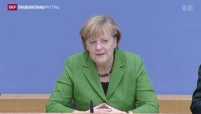 Video «Kompromiss für grosse Koalition steht» abspielen