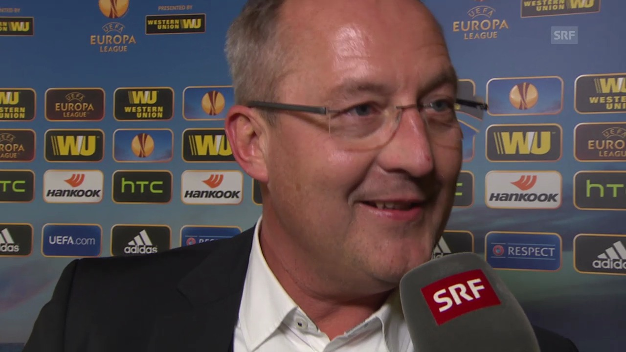 Fussball: Europa League, Interview mit YB-Sportchef Fredy Bickel