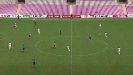 Video «Fussball: Schweizer Cup, 1. Runde: Servette - Luzern, Tor Luzern 0:2» abspielen