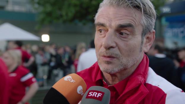 Video «Formel 1: Arrivabene im Interview» abspielen