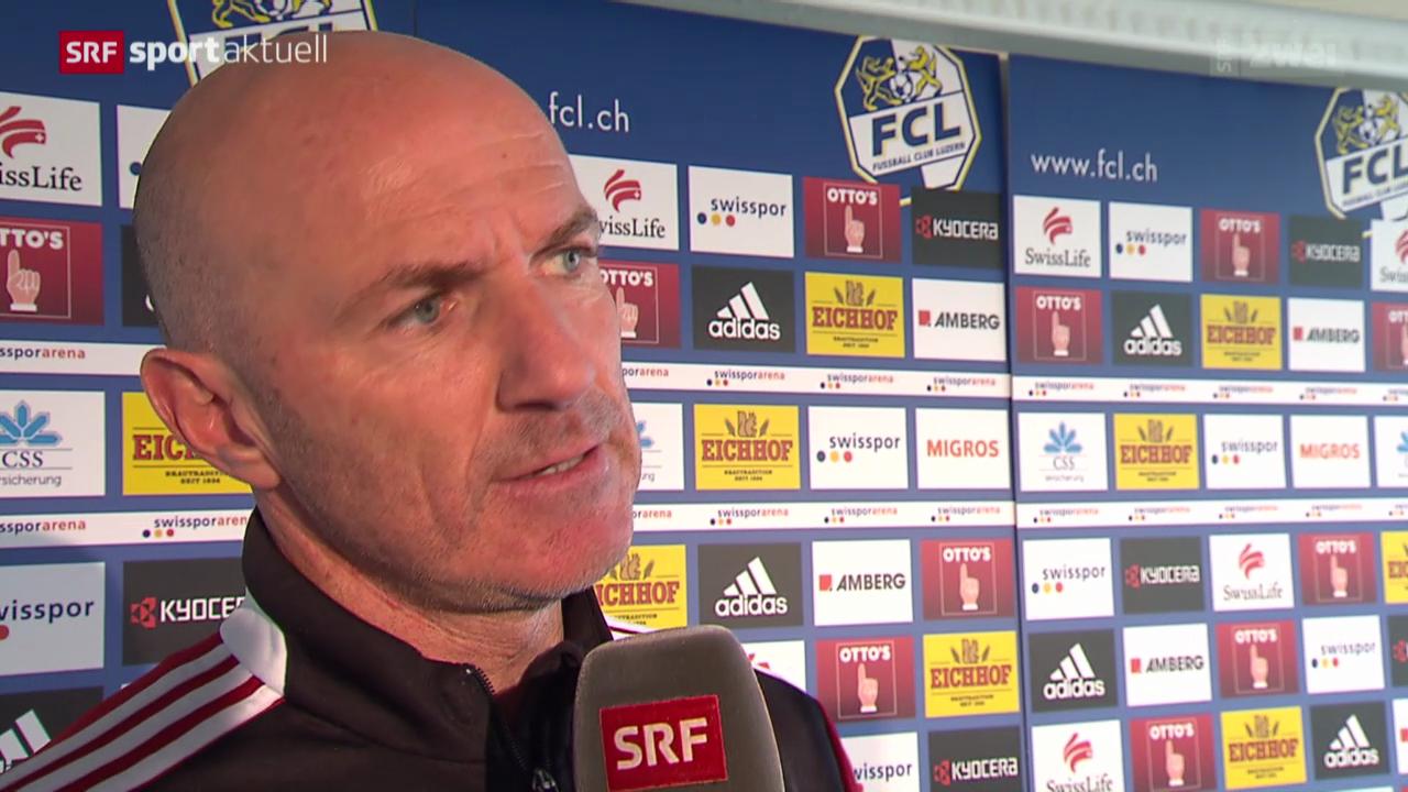 Fussball: Carlos Bernegger bleibt beim FC Luzern