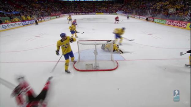 Video «Highlights Schweden - Kanada» abspielen
