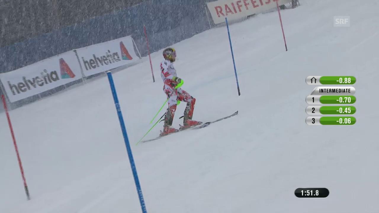 Ski alpin: WM 2015 Vail/Beaver Creek, Slalom der Männer, der Ausfall von Hirscher