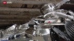 Video «Eine Tonne gefälschter Produkte an Genfer Zoll vernichtet» abspielen
