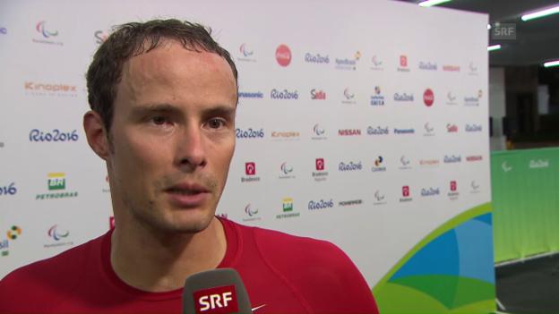 Video «Marcel Hug im Interview» abspielen