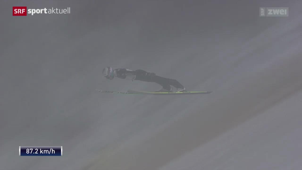 Skispringen: Weltcup Kuusamo, Sieg Simon Ammann