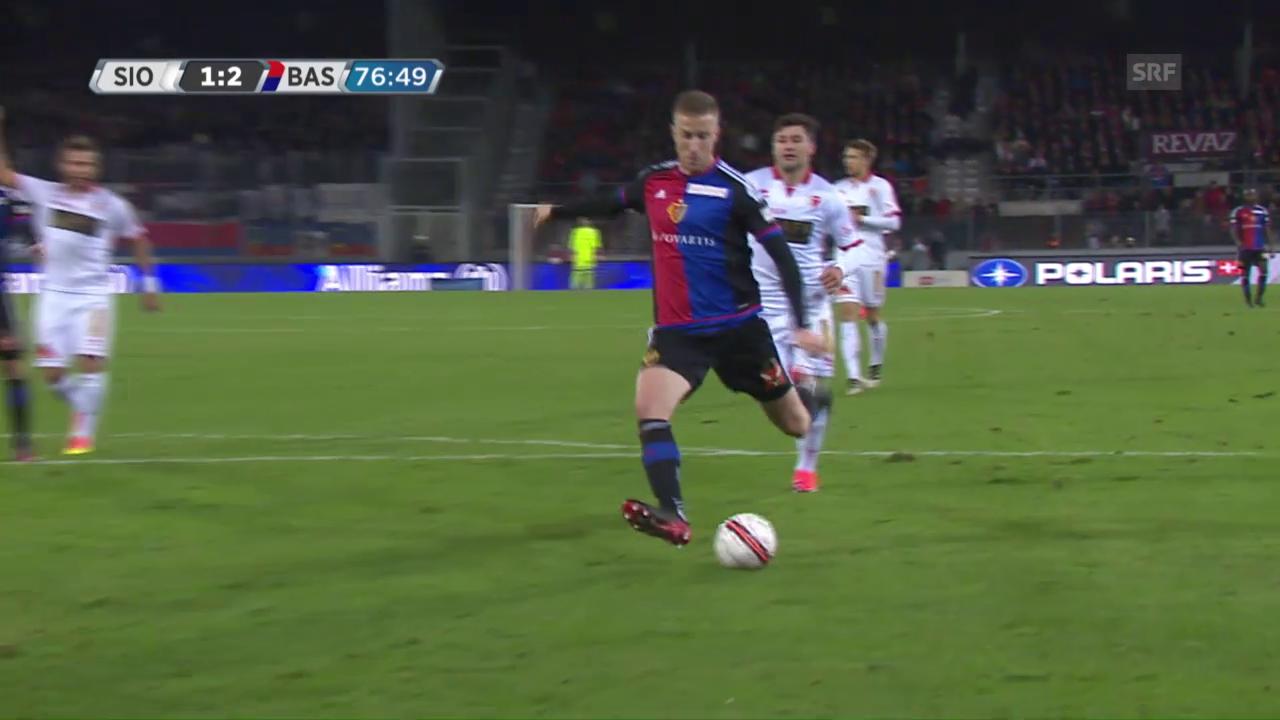 Basels Tor zum 2:1