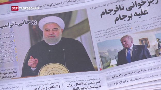 Video «Sorge und Kritik nach Trump-Brandrede gegen den Iran» abspielen