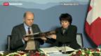 Video «NEAT: Millionen-Zahlung an Italien bringt Diskussionen» abspielen