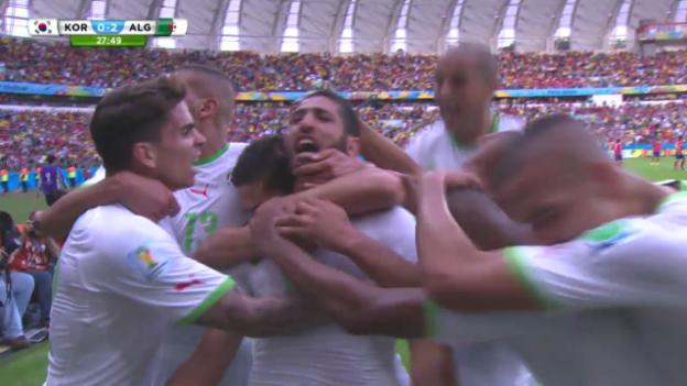 Video «Südkorea - Algerien: Die Live-Highlights» abspielen