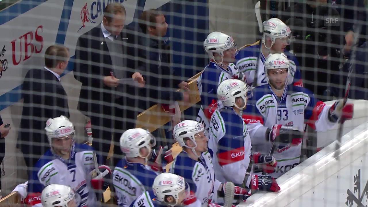 Eishockey: Spengler Cup 2015, Jokerit-Mannheim, 3:5 Hospelt