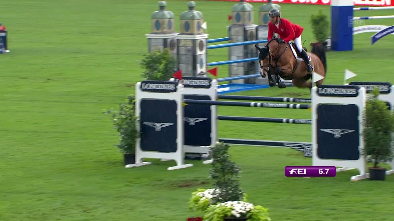 Guerdat und Bianca sichern der Schweiz Rang 2