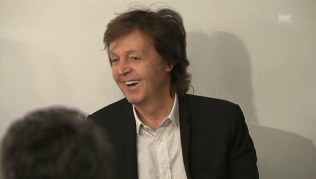 Video «Paul McCartney über sein erstes Treffen mit John Lennon» abspielen