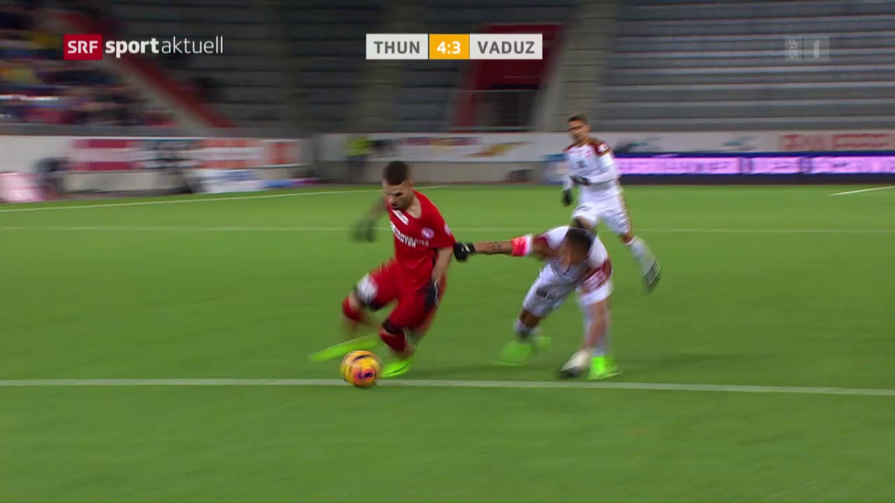 Thun gewinnt verrücktes Spiel gegen Vaduz