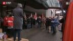 Video «Protest gegen Lohndumping» abspielen