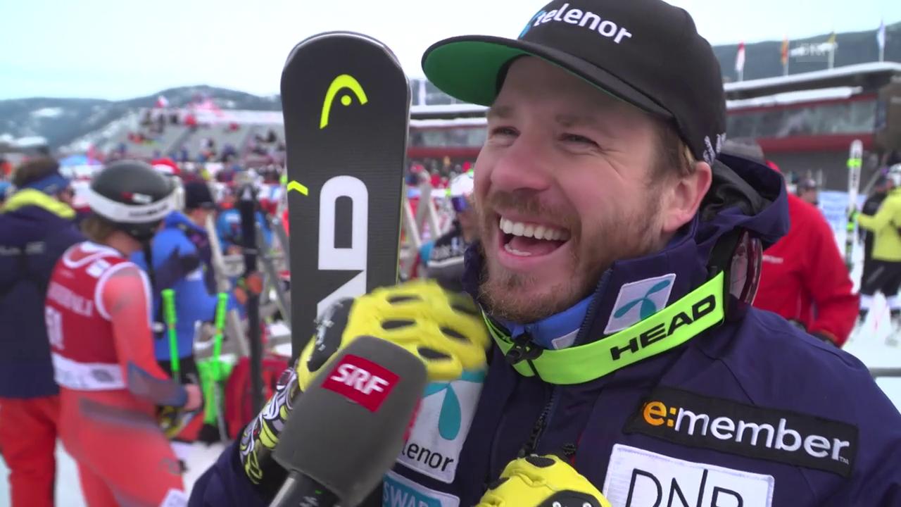 Jansrud: «Für Norwegen ein sehr guter Tag»