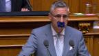 Video «Klamauk statt Kompromisse: Wenn im Bundeshaus der SVP-Motor stockt» abspielen