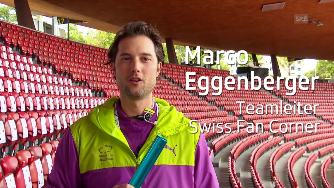 Leichtathletik-EM: Stille Helfer, Marco Eggenberger
