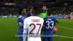 Video «Buffon sichert Juventus Sieg gegen Lyon» abspielen
